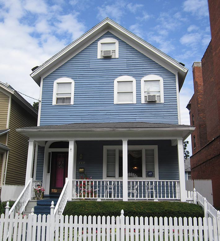 House that has undergone Home Renovation through one of HOCN's housing programs