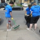 HOCN Success Story, Volunteers at the Grant St Clean-Up