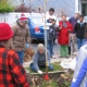HOCN Success Story, Volunteers work at the Tree-Planting Initiative