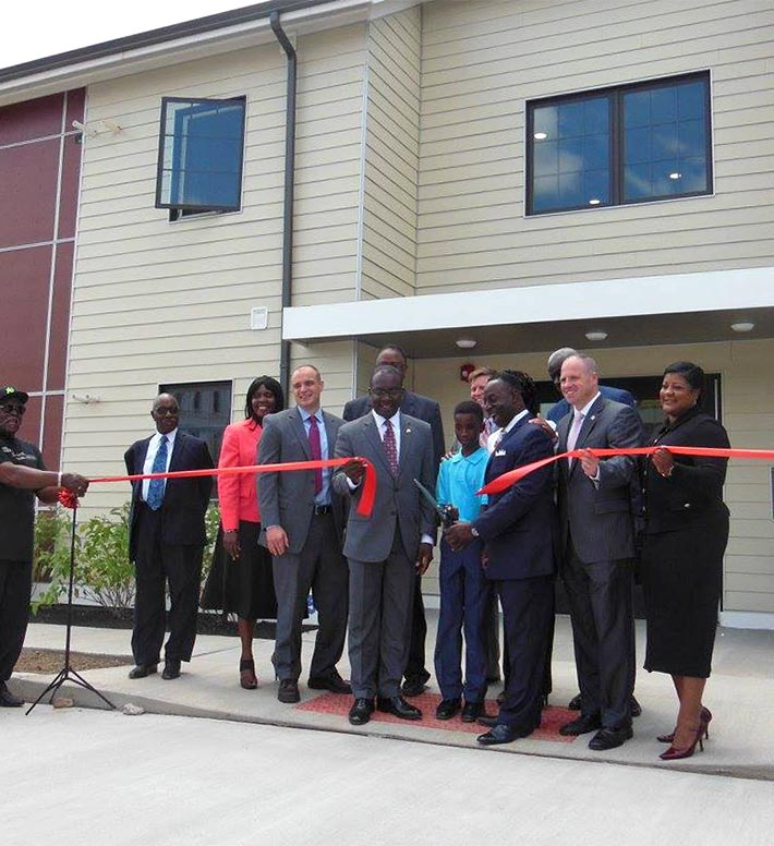 HOCN, Mt Aaron Manor Apartments ribbon cutting ceremony