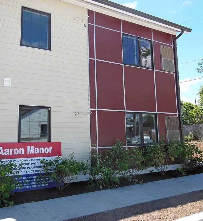 HOCN, Mt Aaron Manor Apartments project completed